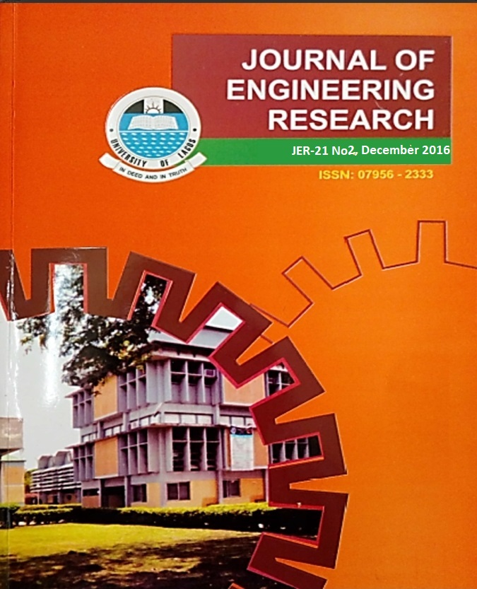 Journal of Engineering Research vol.21(2)