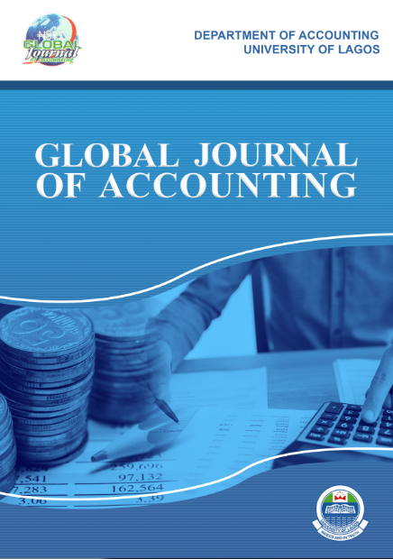 Global Journal of Accounting, Department of Accounting, Faculty of Management Sciences, University of Lagos
